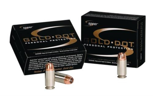Speer Gold Dot .40 SW 180 Gr, Hollow Point, 20rd Box, 25 Box/Case