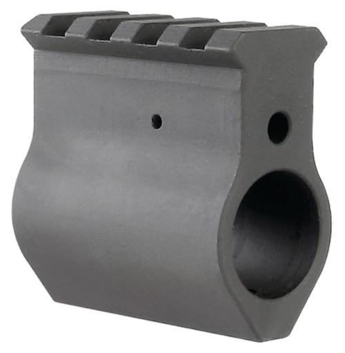 Midwest Upper Height Gas Block With Machined Rail For .750 Diameter Barrels