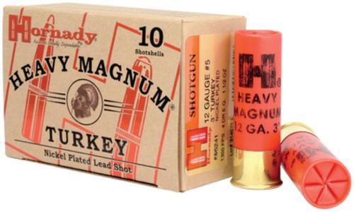 Hornady Heavy Magnum Turkey Loads 12 Gauge 3 Inch 1300 FPS 1.5 Ounces 6 Shot 10 Per Box