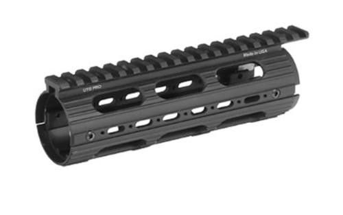 Leapers, Inc. - UTG Handguard, Fits AR Rifles, Carbine Length, Super Slim Drop-in, Black