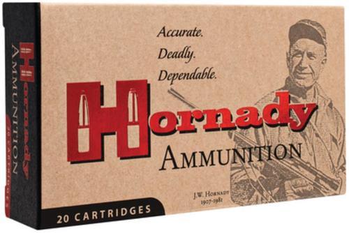 Hornady Custom 8x57 JS 195gr, Spire Point 20rd Box