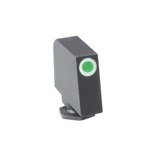 Ameriglo Front Tritium Night Sight For All Glock Green With White Outline .315 Height .125 Width