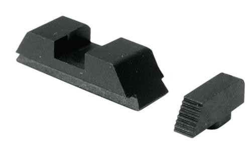 AmeriGlo Defoor Tactical Sight Set For Glock Flat Black
