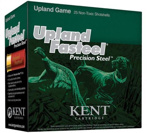 """Kent Fasteel Upland 12 Ga, 2.75"""", 1-1/8 oz, 6 Shot, 25rd/Box"""
