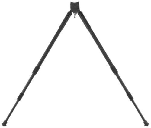 """Caldwell Shooting Bipod Sitting Black 14-30"""" Aluminum compatible with Swivel Stud"""
