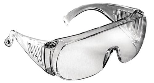 Radians Coveralls Shooting Glasses Clear