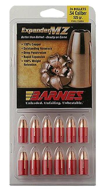 Barnes Muzzleloader 50 Black Powder Expander MZ 250gr, 24Pk