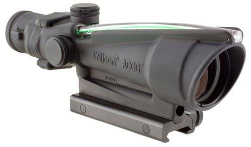 Trijicon 3.5x35 ACOG Dual Illuminated Green Crosshair 300BLK Reticle, TA51 Mount
