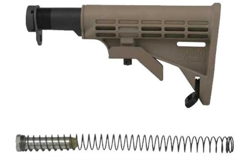 Tapco AR T6 6 Pos Collapsible Stock Composite FDE