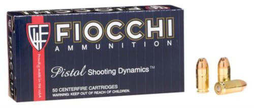 Fiocchi Shooting Dynamics 380 ACP 90gr, JHP 50 Bx/ 20 Cs