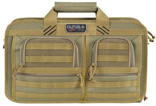 G•Outdoors, Inc. GPS Tactical Operations Briefcase Tan