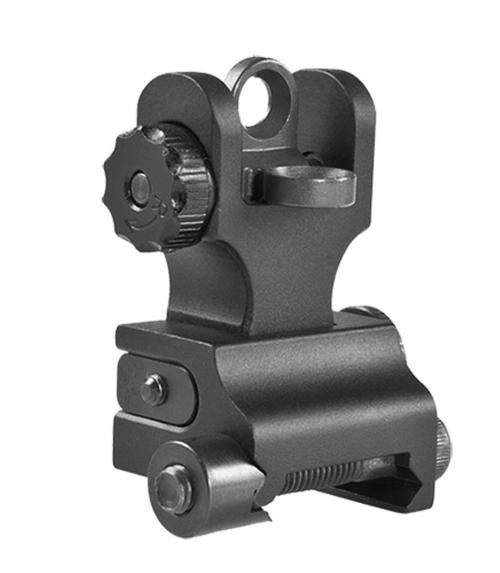 Samson Quick Flip A2 Rear Rail Mount AR-15 Aluminum Black