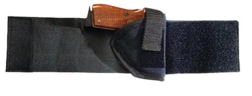 Bulldog Cases Ankle Holster Size 2, S&W J/SP101/EAA Windicator, Black, Right Hand