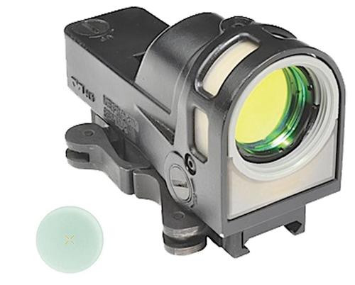 Meprolight M21 Open X 1x 30mm Obj Unlimited Eye Relief 5.5 MOA Triangle, QR Mount