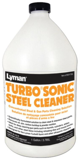 Lyman Turbo Sonic Steel Cleaner One Gallon Concentrate