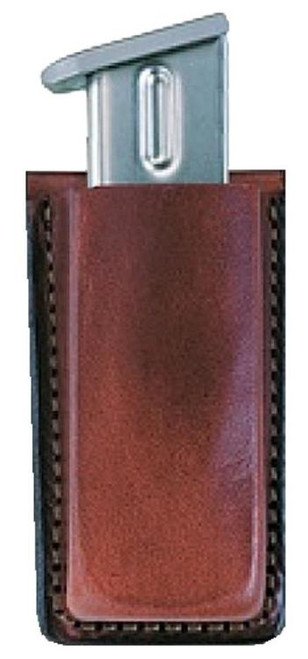 "Bianchi 20A Mag Pouch For Glock 9/40 Fits Belts up to 1.75"" Tan Leather"