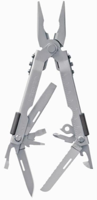 Gerber Multi-Plier 600 - Needlenose Stainless, Full-Size Multi-Tools