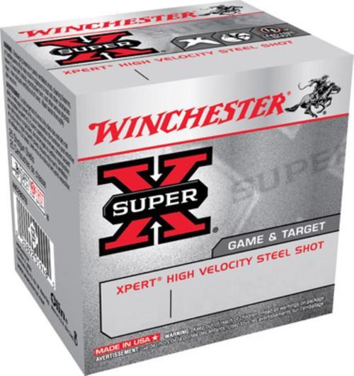 "Winchester Expert Upland Steel 12 Ga, 2.75"", 1oz, 6 Shot, 25rd/Box"