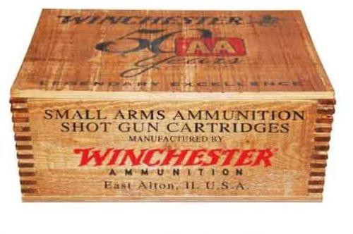 "Winchester AA Target 12 Ga, 2.75"", Target Load, 250rd/Wood Crate"
