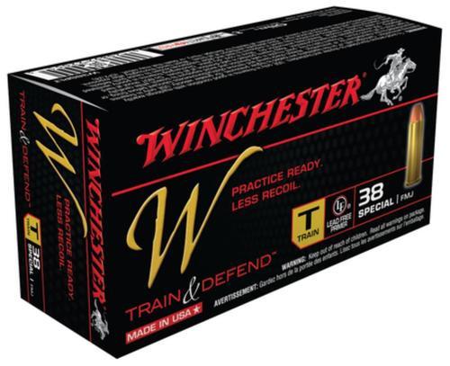 Winchester W Train .38 Special 130gr, FMJ, 50rd Box
