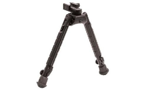 """Leapers, Inc. - UTG Recon 360 Bipod, Fits AR Rifles, 8.1""""-11.9"""", Adjustable 360-degree Panning with Multi-axial Tilting Base, Black"""
