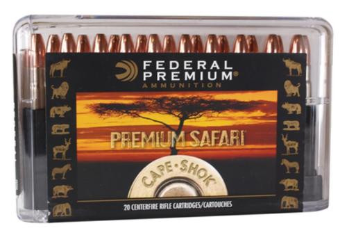 Federal Cape-Shok .500 Nitro Express 570gr, Swift A-Frame, 20rd Box