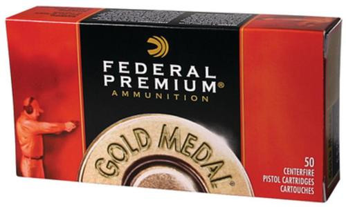 Federal Premium 45 ACP 185gr, FMJ, Semi Wadcutter, 50rd Box
