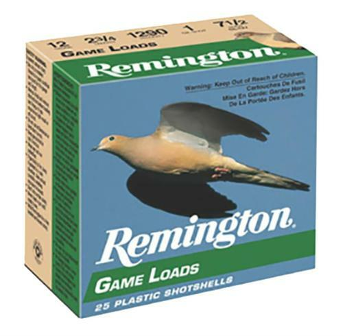 "Remington Game Loads .410 Ga, 2.5"", 1/2oz, 6 Shot, 20rd Box"