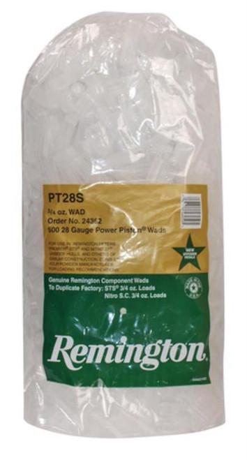 Remington Shotshell Component Wads 28 Ga 3/4 Ounce