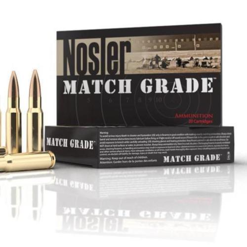 Nosler Match Grade .300 AAC Blackout 125gr, Boattail 20rd Box