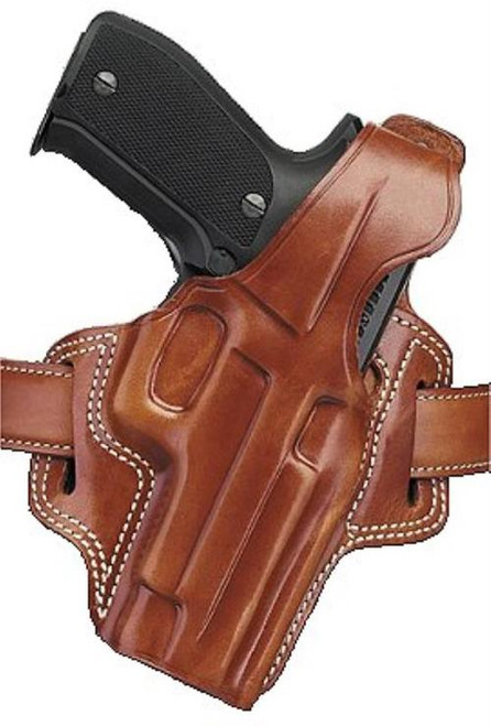 Galco Fletch Revolver 160 Fits Belts up to 1.75 Tan Leather