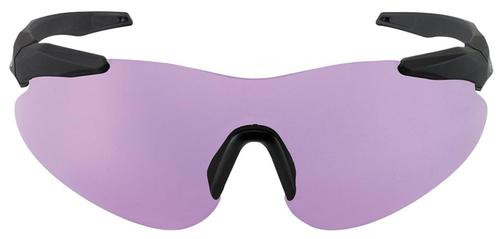 Beretta Soft Touch Shooting Glasses Black Frame Purple Lenses