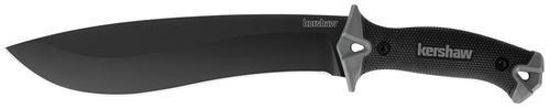 "Kershaw Machete 10"" Carbon Steel Blade Rubber"