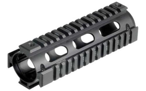Leapers, Inc. - UTG Model 4/15 Quad Rail, Fits AR Rifles, Carbine Length, Black