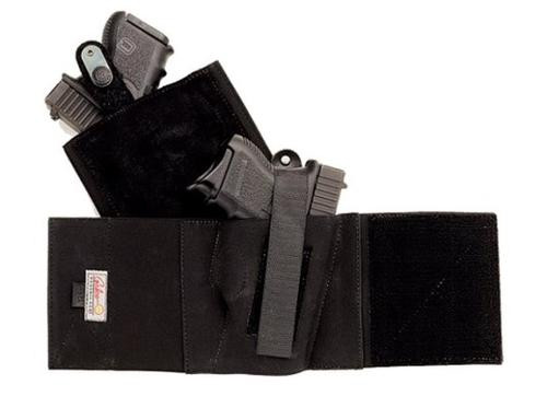 Galco Cop Ankle Band Glock/S&W/Sig 2L Large Black, RH