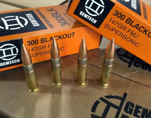 Gemtech 300AAC Blackout 147gr, FMJ, 20rd/Box