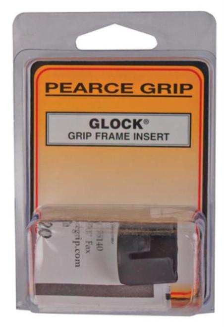 Pearce Grip Grip Frame Insert Glock Mid/Full Size Poly Black