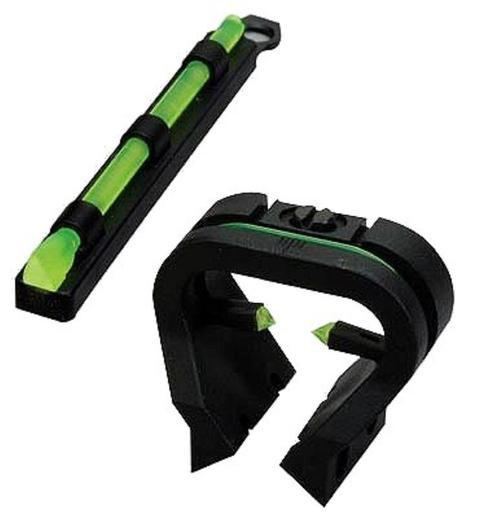 Hiviz \Tri-Viz Combo Sight Fits Most Rib Shotguns, Removeable Front Bead
