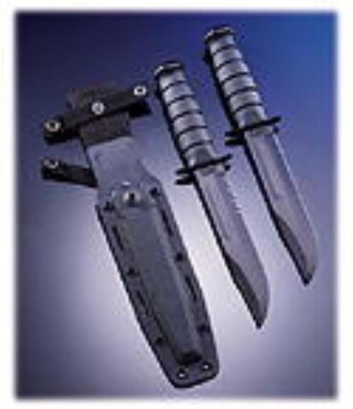 Kabar Fighting/Utility Knife, Serrated Edge & Kraton G Handle