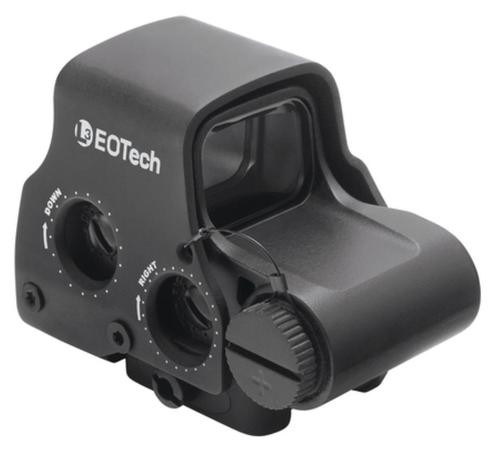 EOTech 65MOA Ring and 4 Dot 223 Reticle, Raised QD Base!