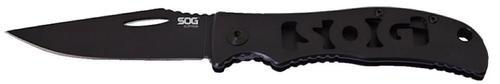 S.O.G Sliptron Folder Clip Point Blade All Stainless Steel Black