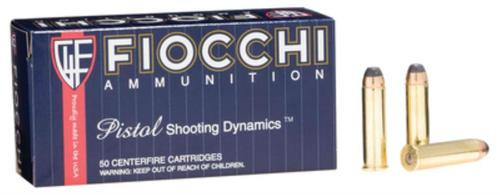 Fiocchi .357 Magnum, 125 Gr, Semi Jacketed Soft Point, 50rd Box
