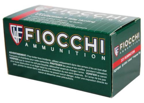 Fiocchi Extrema Hunting .223 Rem, 50 Gr, V-Max, 50rd Box