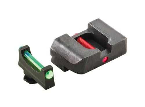Ameriglo Target Competition Set For Glock 17-39 Green Fiber Front Fiber Red Fiber Rear