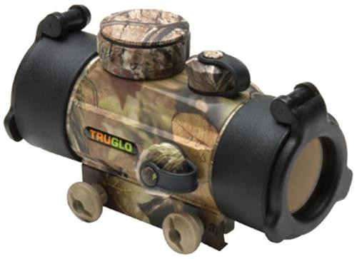 Truglo Red Dot 1x 30mm Obj Unlimited Eye Relief 5 MOA Realtree APG