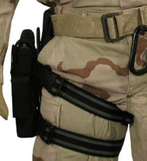 BlackHawk Omega VI Assault Holster, 1911, Browning 9mm, Right Handed, Black