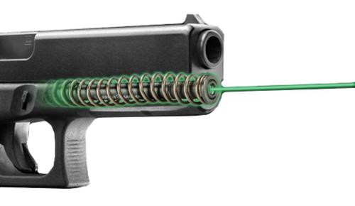 LaserMax LMS-1141LG Guide Rod Green Laser For Glock 17L/24/34/35 (Gen 1-3) Black