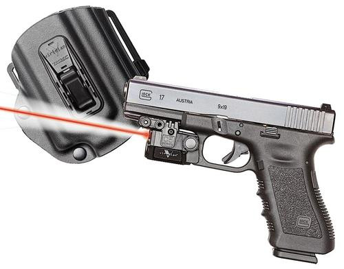 Viridian Weapon Technologies, C5L-R, Red Laser and Tactical Light, For Glock 17/19/22/23, Includes TacLoc Holster