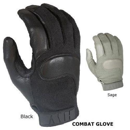 HWI Combat Glove, Black, X-Large