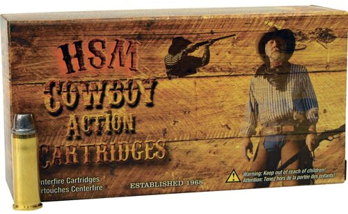 HSM Cowboy Action .357 Mag, 158 Gr, SWC, 50rd/box